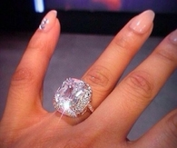 Huge diamond ring