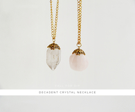 DIY Decadent Crystal Necklace