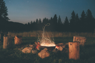 Country fire pit