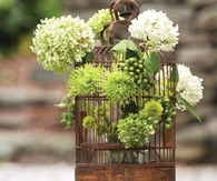 Birdhouse Flower Vase
