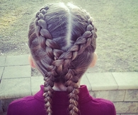 Cross braids
