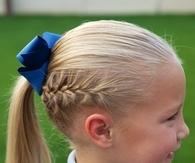 French back ponytail