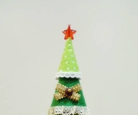DIY Easy Felt Christmas Tree