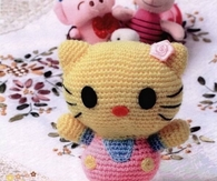 DIY Crochet Hello Kitty Gift