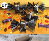 DIY Toilet Paper Roll Bats Tutorial