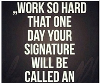 Work So Hard