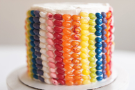 How to Create a Jelly Bean Layer Cake