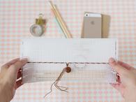 Woven Pencil Pouch Tutorial