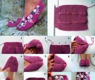 DIY Slippers Craft