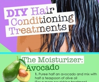 DIY Hair Conditioning Treatment
