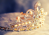 Gold & Diamond Tiara