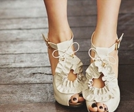 Cute Ruffled Shoes