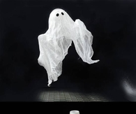 DIY Ghost Home Halloween Ideas