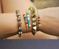 DIY Rainbow Beads and Bracelets