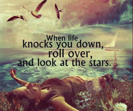 when life knocks you down