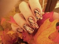 Beautiful Autumn Nail Art