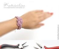 DIY Silk Cord Bracelet