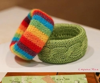 DIY Crochet Wristband