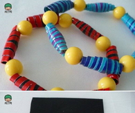 DIY Colored Tape Bracelet