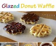 Glazed Donut Waffles