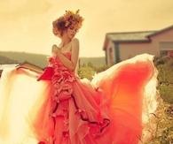 Autumn Wedding Gown