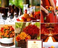 Autumn Wedding Ideas Collage
