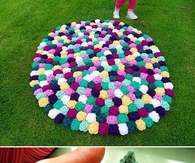 DIY Crochet Rose Carpet