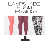 Lampshade from Leggings