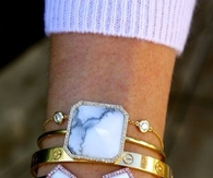 Arm Bracelets with stones