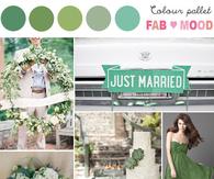 GREEN WEDDING COLOUR PALETTE
