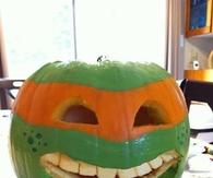 Michelangelo Pumpkin