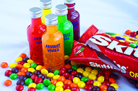 Skittle absolut vodka