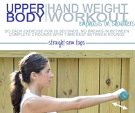 Upper Hand Weight Body Workoout