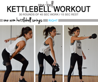 One Bell Kettlebell Workout