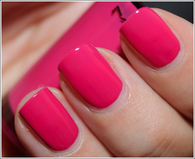 Girly pink nails