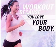 Workout because you love your body