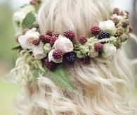 Roses & Berries Garland