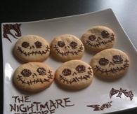 The nightmare before christmas cookies