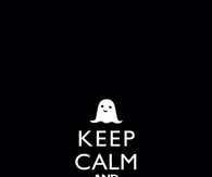 Keep calm and say boo