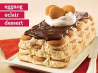 eggnog Eclair Dessert