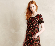 Floral Flannel Shift