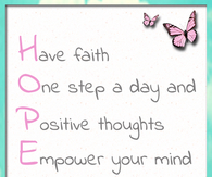 Hope - Have Faith....