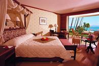 Beautiful Pink Bedroom with Ocean View