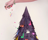 DIY Pinata Tree