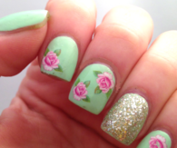 Rosey nails