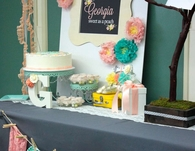 Georgia peach baby shower