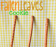 Fallen Leaves Cookies