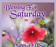 Blessing for Saturday