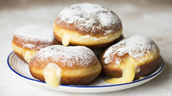 Bavarian Cream Filled Donuts