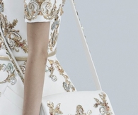 Matching Engraved Dress & Handbag - Chanel